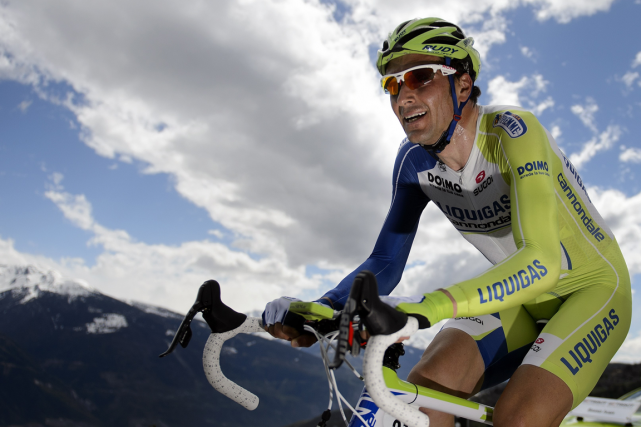 Ivan Basso... (Photo Fabrice Coffrini, archives AFP)