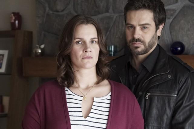 Sophie Paradis joue Laurie dans Mémoires Vives... (Photo ICI Radio-Canada télé)