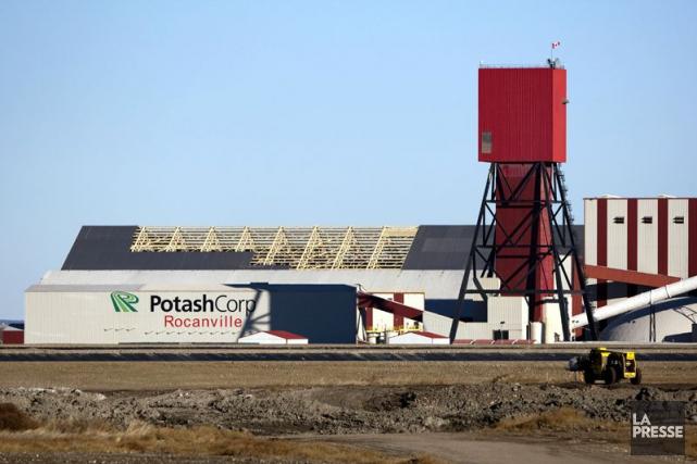 Potash Corporation of Saskatchewan a révisé à la baisse ses prévisions pour... (Photo Troy Fleece, archives La Presse Canadienne)