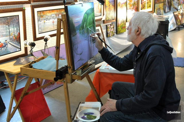 Les amateurs de peintures seront comblés en fin... ((Archives Le Quotidien))