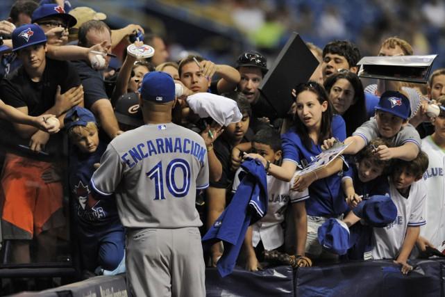 Les Blue Jays de Toronto ont suscité l'intérêt... (Photo Steve Nesius, AP)