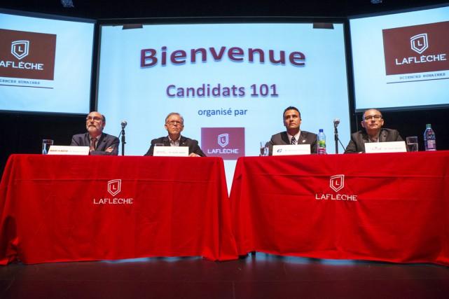 Les candidats fédéraux dans Trois-Rivières ayant participé à... (Photo: Olivier Croteau)