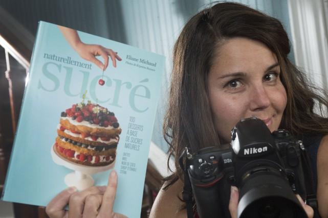 La photographe Krystine Buisson, de Yamachiche, a illustré... (Photo: Stéphane Lessard)