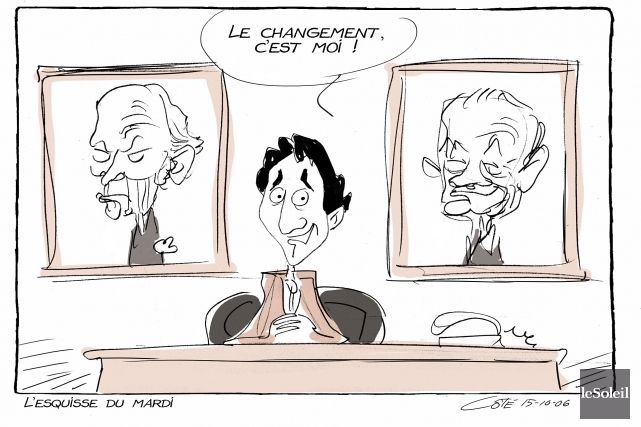 Caricature du mardi 6 octobre 2015... (Le Soleil, André-Philippe Côté)