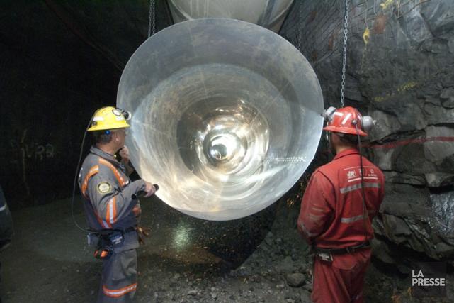 Une mine de de Goldcorp dans la région... (PHOTO ARCHIVES LA PRESSE)