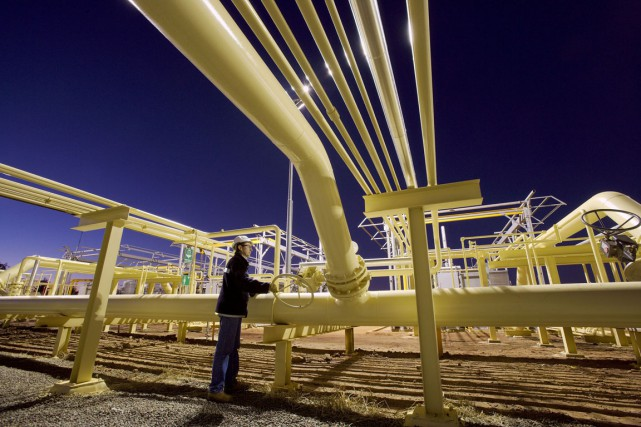 Selon une étude commandée par un groupe environnemental, les industries du... (Photo archives Bloomberg)