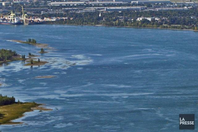 Les huit milliards de litres d'eaux uséesreprésentent le... (Photo Ivanoh Demers, archives La Presse)