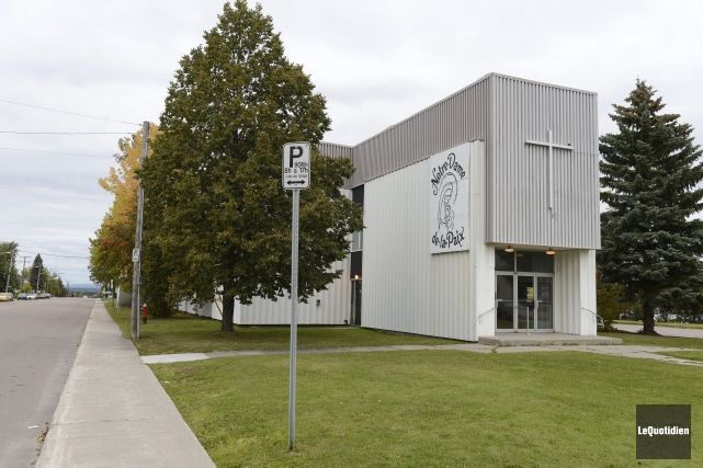 La fabrique Notre-Dame-de-la-Paix est sur le point de... ((Photo Le Quotidien, Jeannot Lévesque))