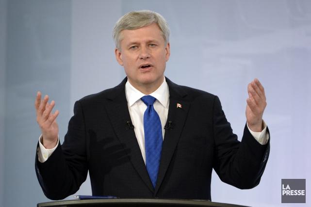 Le chef conservateur Stephen Harper doit des explications aux producteurs de... (Archives, La Presse)