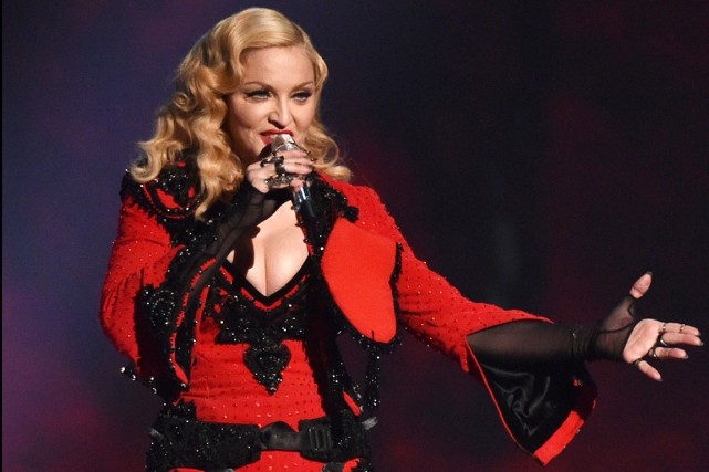 Madonna faitpartie des finalistes retenus pour les intronisations... (PHOTO ARCHIVES AP)