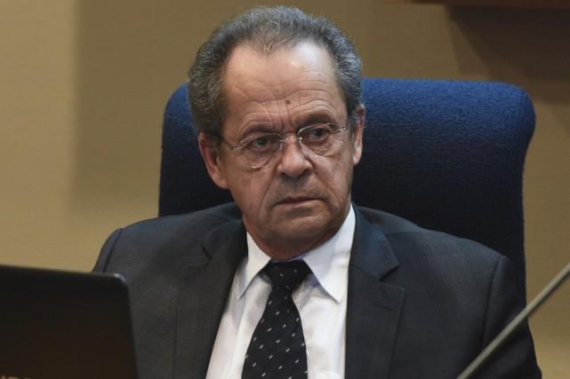 Le maire de Nicolet, Alain Drouin....