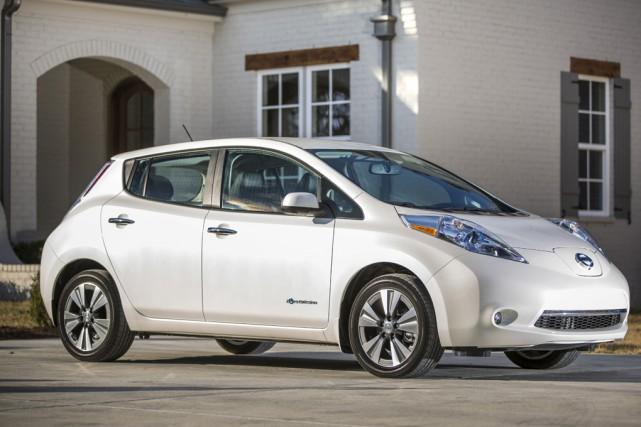 La Nissan Leaf est l'une des deux options... (photo tirée du site du manufacturier)