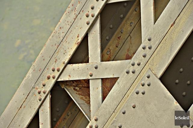 Le pont de Québec... (Photothèque Le Soleil)