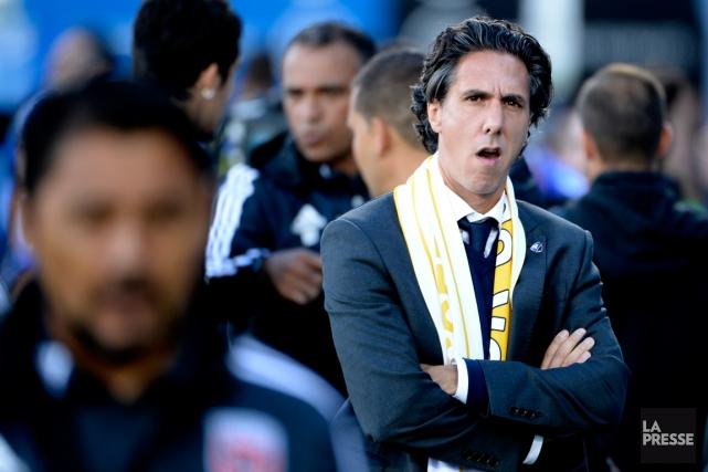 L'entraîneur de l'Impact Mauro Biello devra puiser dans... (Photo Bernard Brault, archives La Presse)