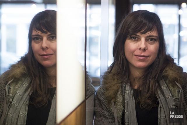 La cinéaste Sophie Deraspe se réjouit de voir... (PHOTO OLIVIER PONTBRIAND, ARCHIVES LA PRESSE)