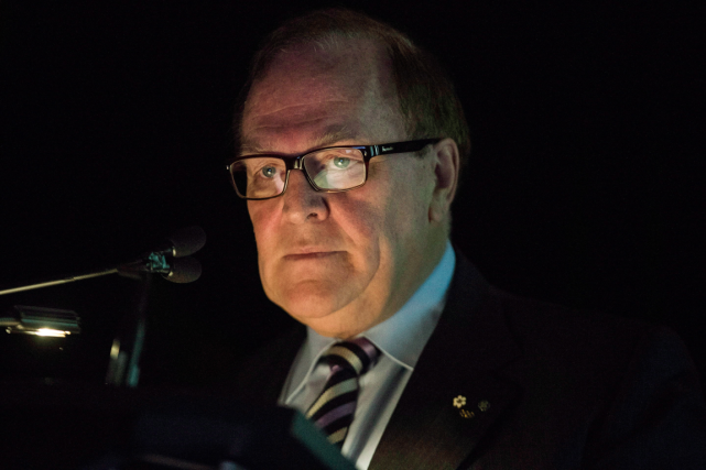Marcel Aubut a démissionné de la présidence du... (Photo Chris Young, archives PC)