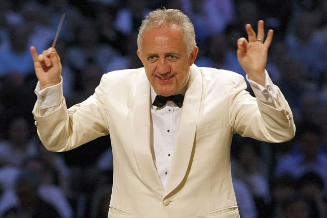Bramwell Tovey, chef de l'Orchestre symphonique de Vancouver,... (PHOTO ARCHIVES BLOOMBERG)