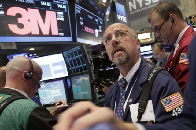 «C'est un marché qui reprend son souffle, et... (Photo Mark Lennihan, AP)