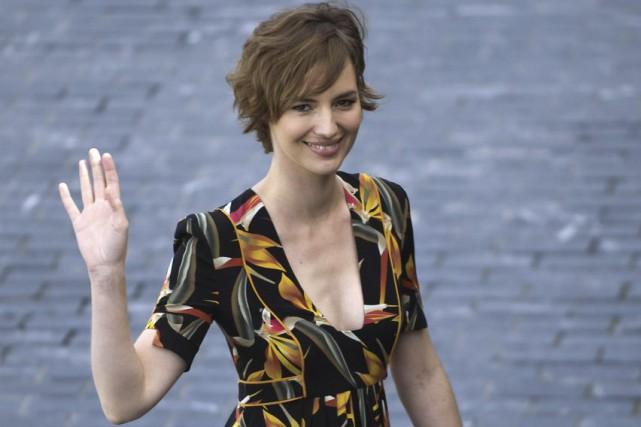 Louise Bourgoin au Festival du film de Namur.... (PHOTO AFP)