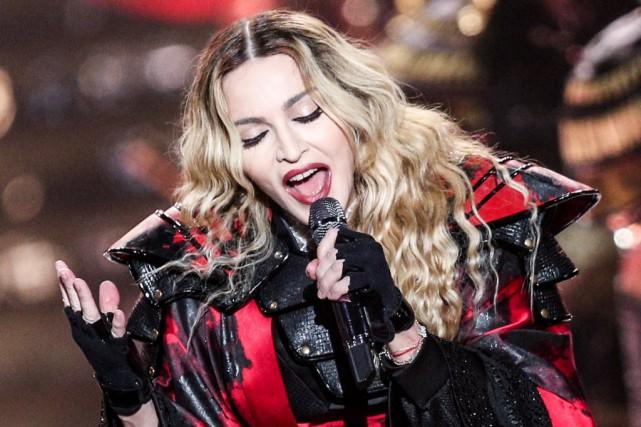 Le concert que va donner la chanteuse Madonna à Singapour, dans le cadre de sa... (PHOTO ARCHIVES AP)