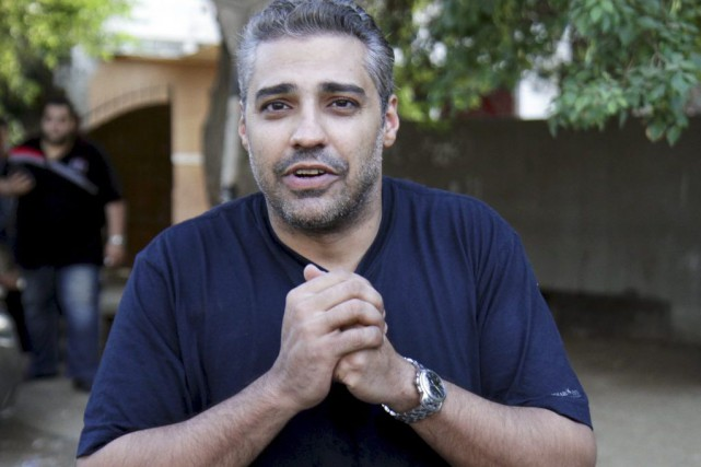 Mohamed Fahmy... (PHOTO AL YOUM AL SAABI, REUTERS)
