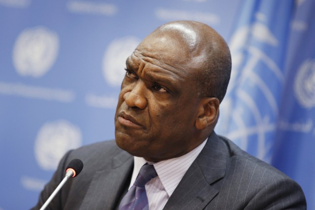 Ambassadeur d'Antigua-et-Barbuda auprès des Nations unies, John Ashe,... (PHOTO MIKE SEGAR, ARCHIVES REUTERS)