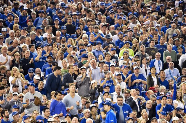 Les deux premiers matchs des Blue Jays en... (Photo Nathan Denette, PC)