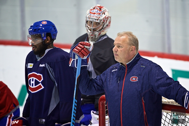 P.K. Subban, Carey Price et l'entraîneur Michel Therrien amorceront... (Photo André Pichette, archives La Presse)