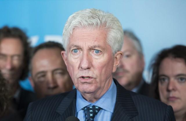 Le chef du Bloc québécois Gilles Duceppe s'exprime... (La Presse Canadienne, Graham Hughes)