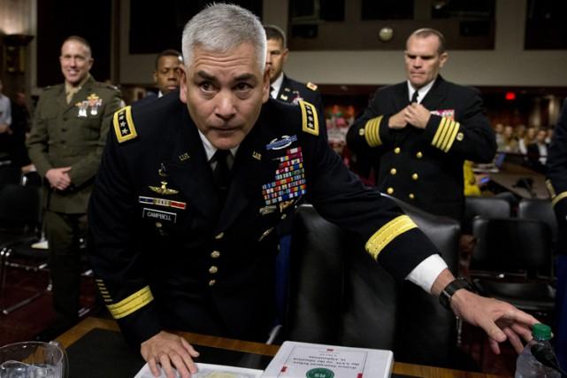Devant la commission des forces armées du Sénat,... (PHOTO AP)