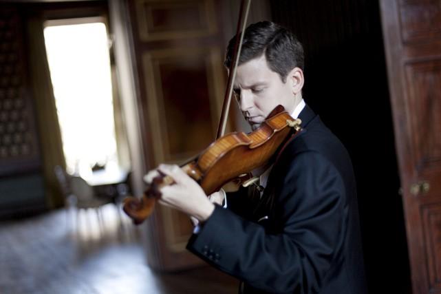 James Ehnes interprétera un répertoire consacré aux compositeurs... (Courtoisie, Benjamin Ealovega)