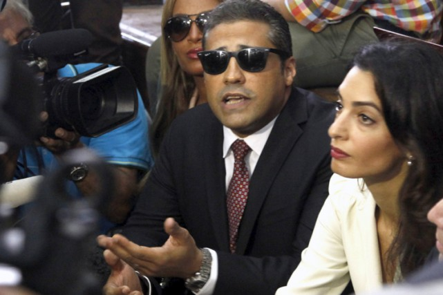 Le journaliste canado-égyption Mohamed Fahmy.... (ARCHIVES REUTERS)