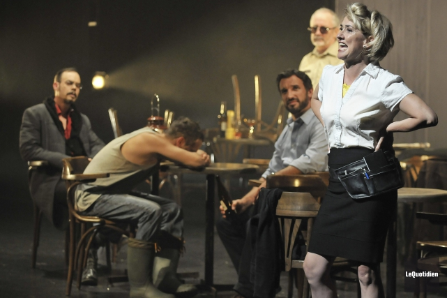 La pièce Saint-André-de-l'Épouvante a attiré 1500 personnes à... ((Archives Le Quotidien))