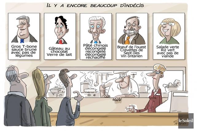 Caricature du mercredi 7 octobre 2015... (Le Soleil, André-Philippe Côté)