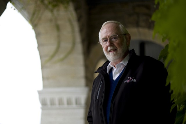 Arthur McDonald, professeur émérite à l'Université Queen's,est le... (La Presse Canadienne, Fred Chartrand)