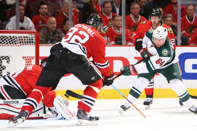 Les Blackhawks de Chicago ont inscrit le nom du défenseur Michal Rozsival sur... (PHOTO REUTERS)