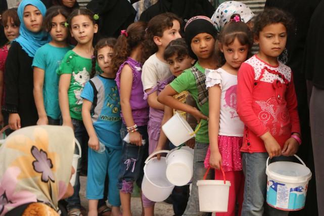 «L'aide de la communauté internationale s'avère totalement insuffisante... (Photo archives AFP)