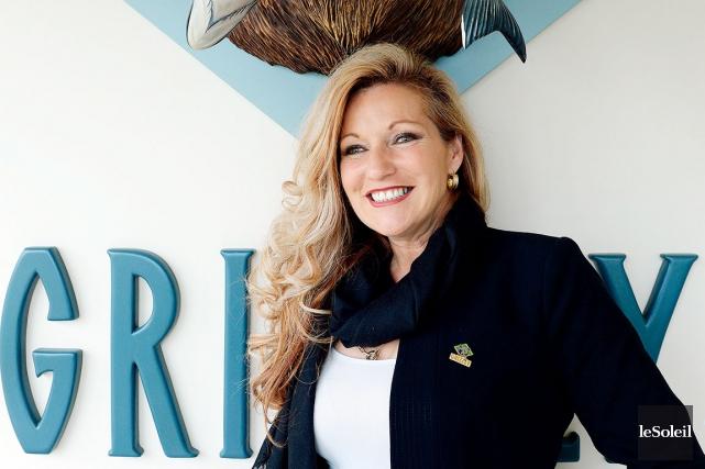 Laura Boivin, propriétaire de Fumoir Grizzly, affirme que... (Le Soleil, Erick Labbé)