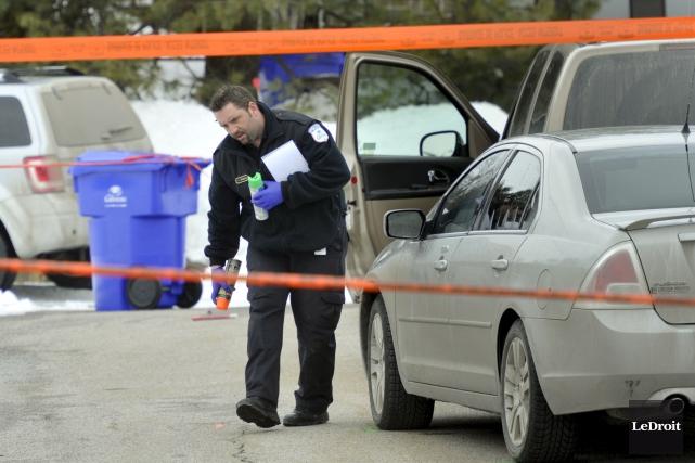 Le 22 mars 2013, la policière Marie-Claude Fortin... (Martin Roy, Archives LeDroit)
