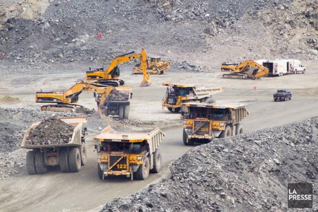 Le Canada, pays exportateur de matières premières, subit... (Photo Ivanoh Demers, archives La Presse)