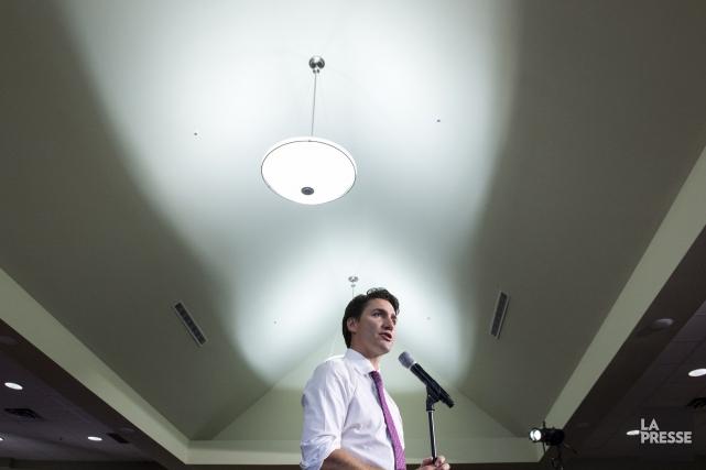 Jusqu'à maintenant, c'est Justin Trudeau qui a opposé... (Paul Chiasson, Archives La Presse Canadienne)