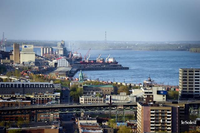Le port de Montréal... (Photothèque Le Soleil)