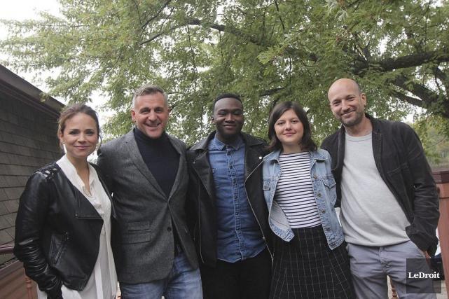 Suzanne Clément, Patrick Huard, Irdens Exantus, Clémence Dufresne-Deslières... (Etienne Ranger, LeDroit)