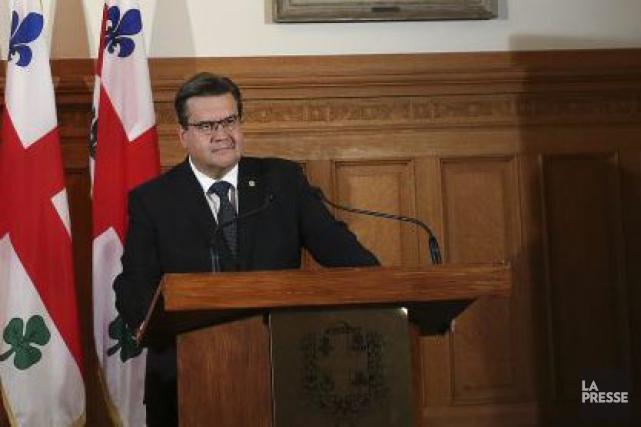 Le maire de Montréal, Denis Coderre, projette que... (Photothèque La Presse, Martin Chamberland)
