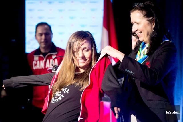 La présidente par intérim du Comité olympique canadien,... (Photothèque Le Soleil)