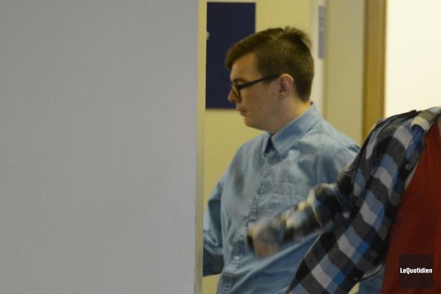 Sébastien Tremblay subit son procès pour des gestes... (Photo Le Quotidien, Jeannot Lévesque)