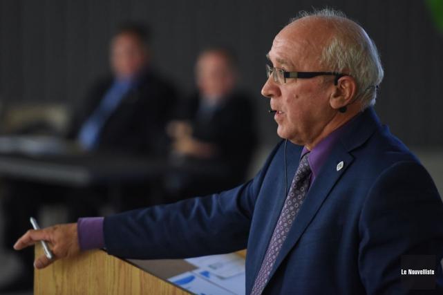 Le maire de la municipalité, Robert Landry, affirme... (Photo: François Gervais, Le Nouvelliste)