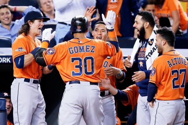 Les Astros se mesureront maintenant aux Royals de... (AP, Kathy Willens)