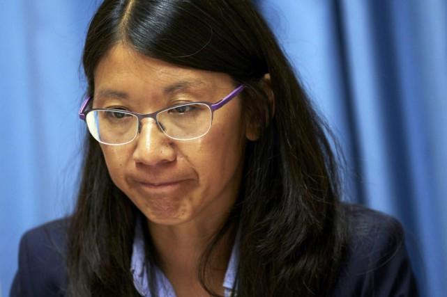 Joanne Liu, la présidente de Médecins sans Frontière,... (Photo Denis Balibouse, Reuters)
