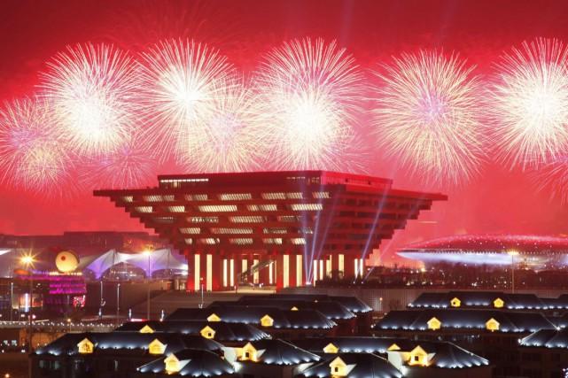 Le pavillon chinois présenté lors de l'exposition universelle... (Photo: Reuters)